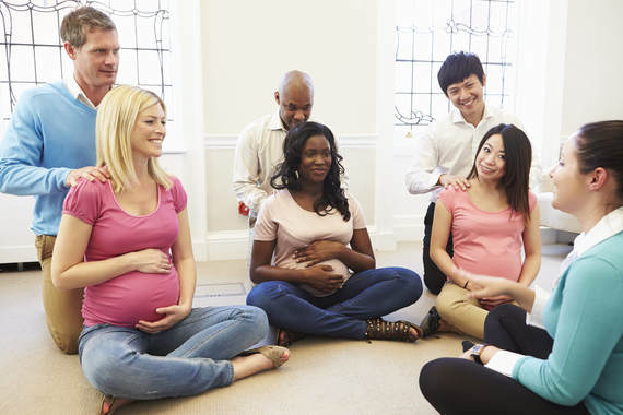 Childbirth Class in Fairfax